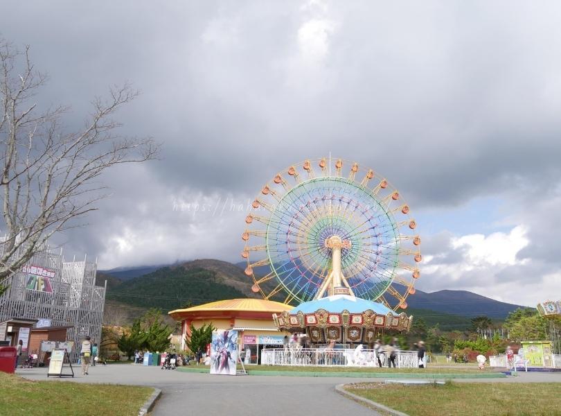 富士山の遊園地【ぐりんぱ】子連れレジャー旅行記ブログ|滞在時間や混雑・ランチをレポ