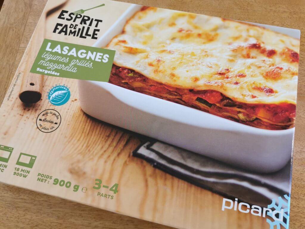 PICARD(ピカール)メディア紹介商品「モッツアレラチーズと野菜のラザニア」実食レポ