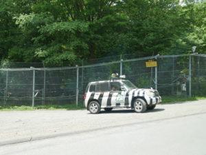 富士サファリパークパトロールカー