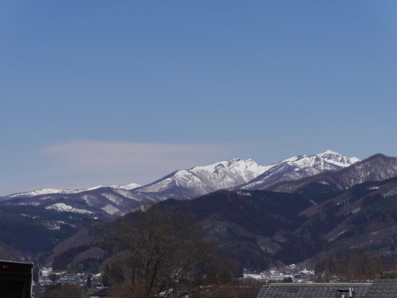 川場田園プラザからの景色