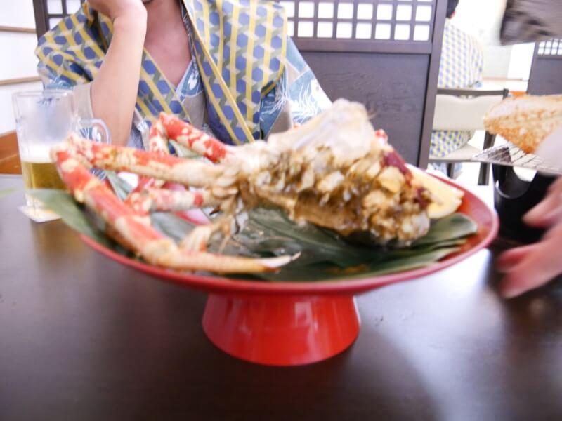 タカアシガニの蟹みそ。たっぷりです。