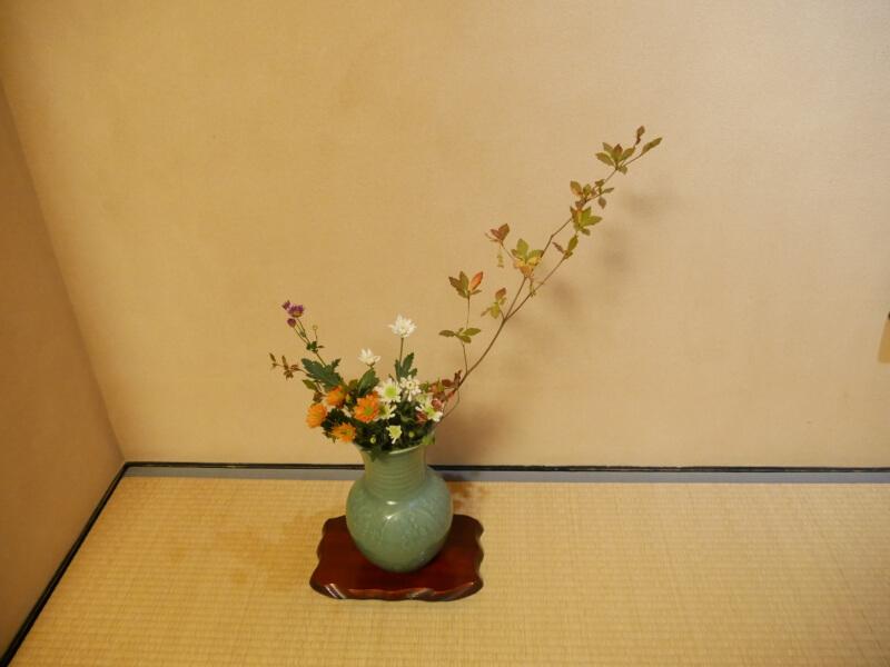 熱川館客室に飾られている生花