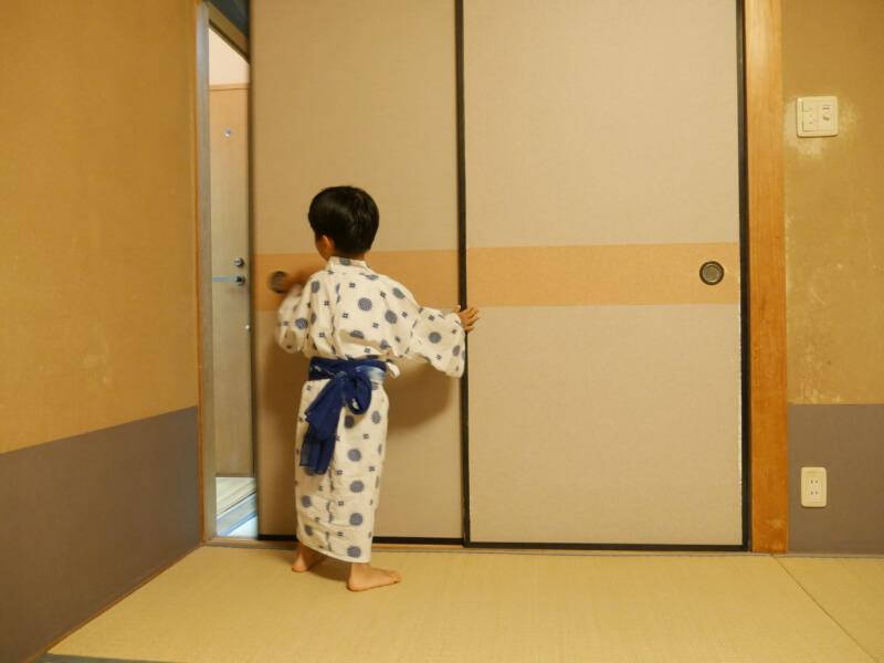 熱川館は子どもの浴衣が借りられます