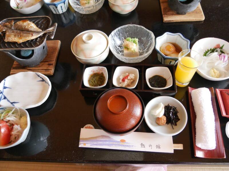 熱川館の朝食