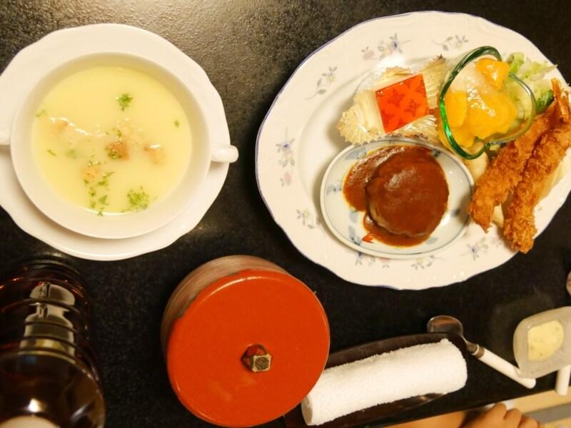 熱川館の夕飯「お子さまランチ」