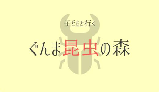 カマキリ先生も来そうなぐんま昆虫の森【5歳】子供連れレジャー口コミと感想
