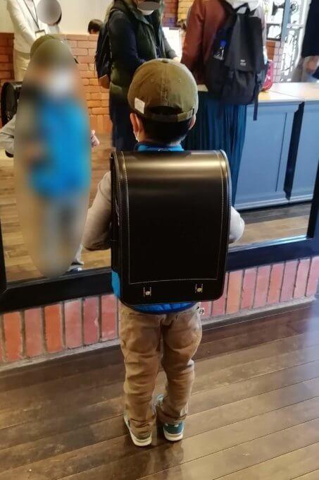 土屋鞄ランドセルコードバン試着