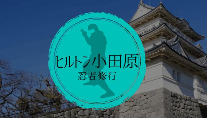 ヒルトン小田原忍者体験談