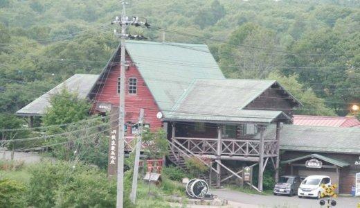 八ヶ岳グレイスホテルの客室から見える「JR日本最高地点」