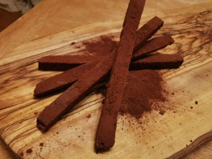 飲むブランはチョコに混ぜても