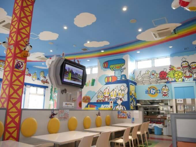 子どもと行くぐりんぱ体験談ブログ「ウルトラマンレストラン」