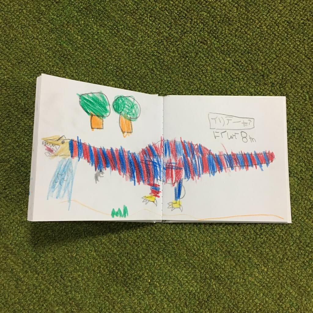 絵本が作れるノート(ダイソー・無印良品)で子どもと絵本を作ってみた体験談ブログ