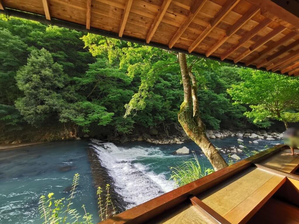 箱根湯元の渓流沿い【鶴井の宿 紫雲壮】で最高の景色を眺めながら子連れ旅行体験談ブログ