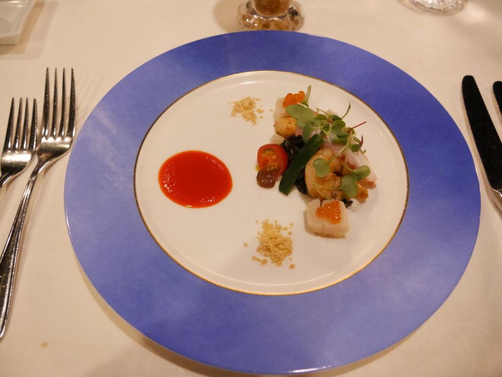 ブルーバイユー・レストランに行ってきた!コース料理の感想とスーベニアフォーク&スプーンを紹介