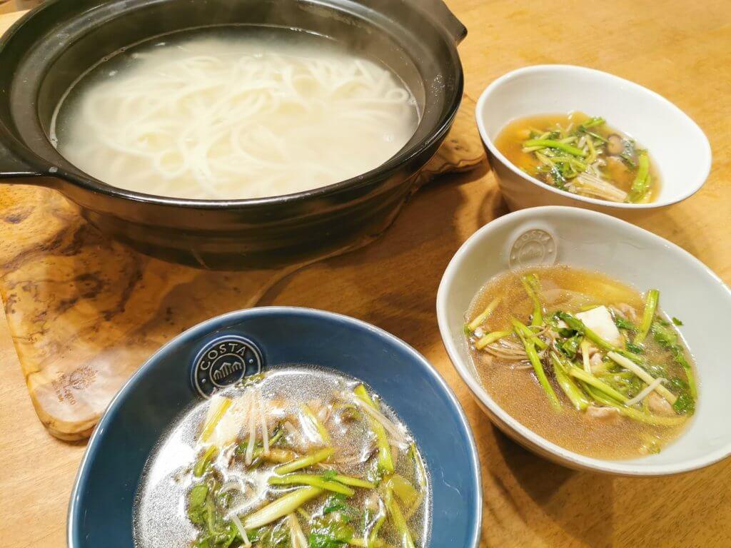 洗い物少量!身体を温めて寒さに負けない【つけうどん】レシピ。不足しがちな野菜たっぷり摂れる
